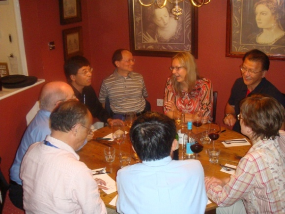 WP7 Phase I Kick-off Meeting - Group Dinner